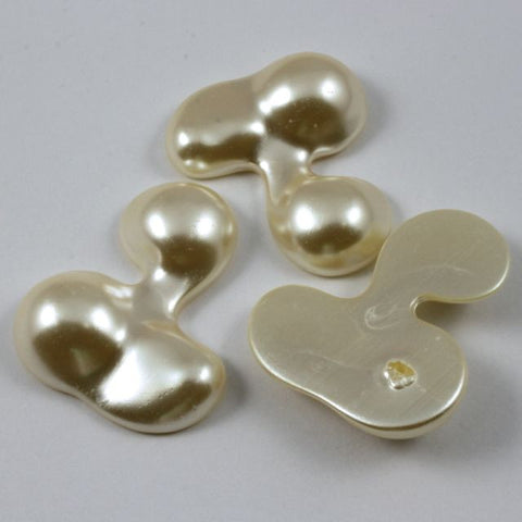 30mm x 35mm Faux Pearl Cabochon-General Bead