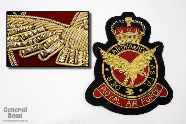 90mm Royal Air Force Patch