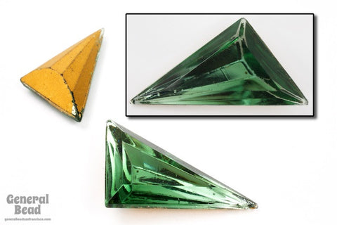 15mm x 20mm Erinite Triangle Cabochon #5294