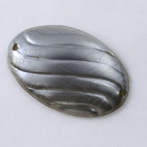 26mm Thick Silver Oval Sequin