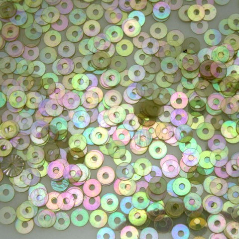 3mm Champagne AB Sequin-General Bead
