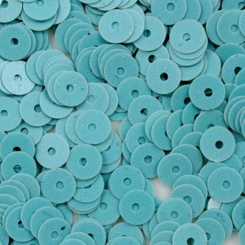 5mm Opaque Turquoise Sequin