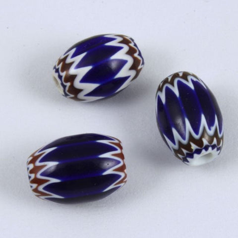 Cobalt 5mm x 7mm Chevron (2 Pcs) #XVB071