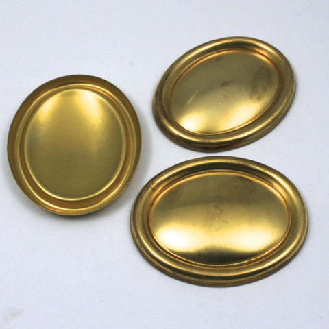 40mm x 50mm Convex Oval with Raised Edge #63-General Bead