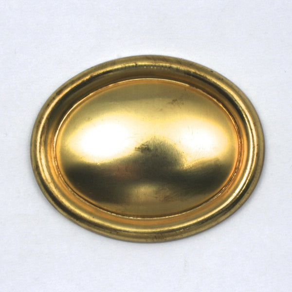 40mm x 50mm Convex Oval with Raised Edge #63