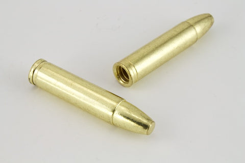 "32mm Gold ""Bullet"" Bolo End #6471-General Bead"