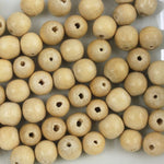 6mm Natural Round Wood Bead-General Bead