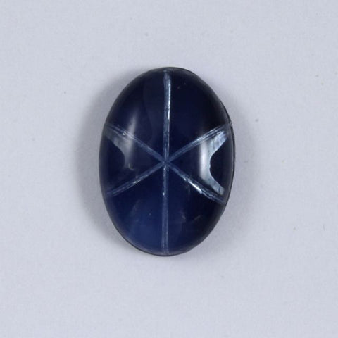 13mm x 18mm Blue Oval Cabochon #1126-General Bead