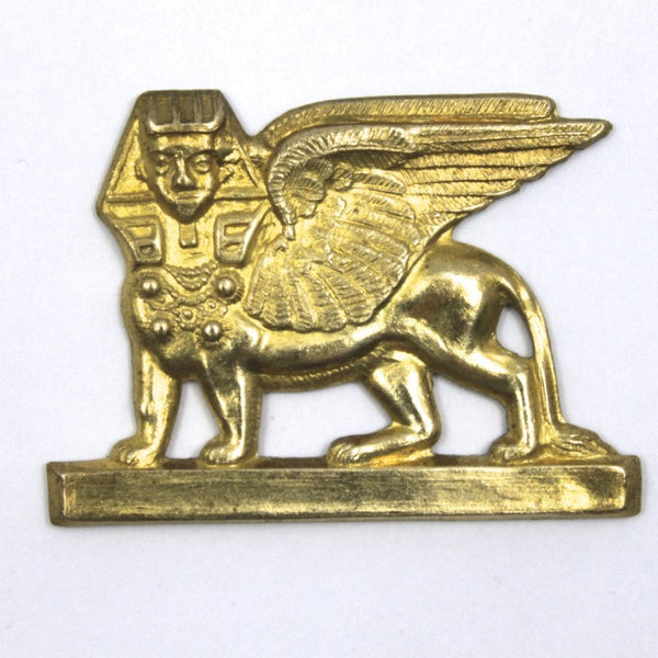 35mm Raw Brass Sphinx