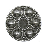30mm Antique Silver Egg Platter #81