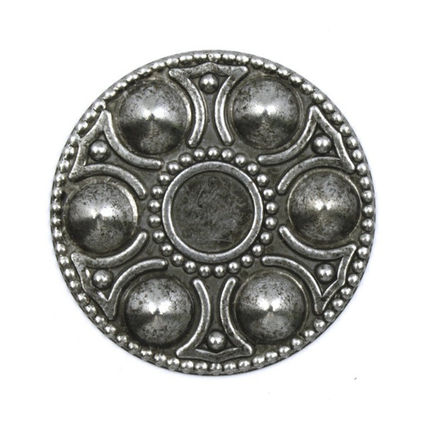 30mm Antique Silver Egg Platter