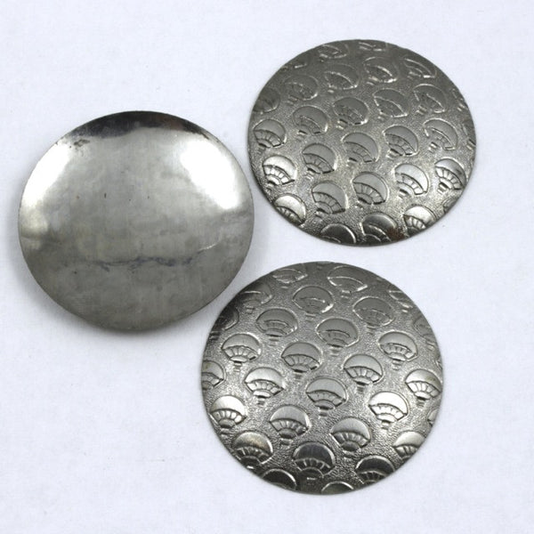 30mm Steel Dome with Hot-Air Balloon Motif