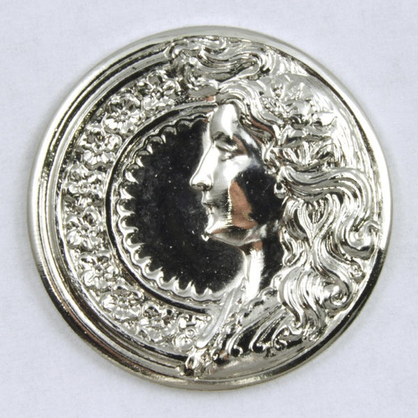 25mm Silver Parisian Profile