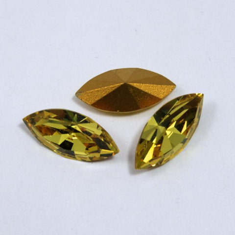 4200 7mm x 15mm Light Topaz-General Bead