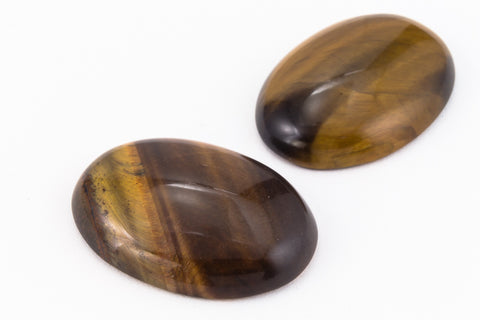 18mm x 25mm Tiger Eye Cabochon #SPC011