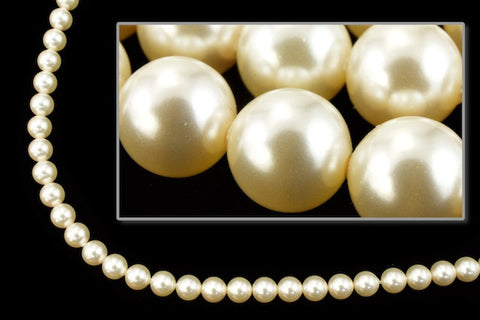 Swarovski 5810 4mm Cream Pearl-General Bead