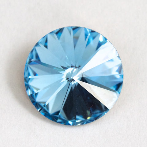 1122 14mm Aquamarine Rivoli