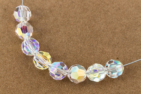 Swarovski 5000 Crystal AB Faceted Bead-General Bead