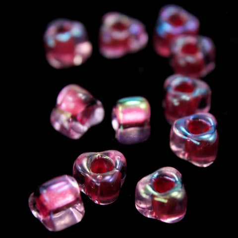5/0 Strawberry AB Miyuki Triangle Seed Bead-General Bead