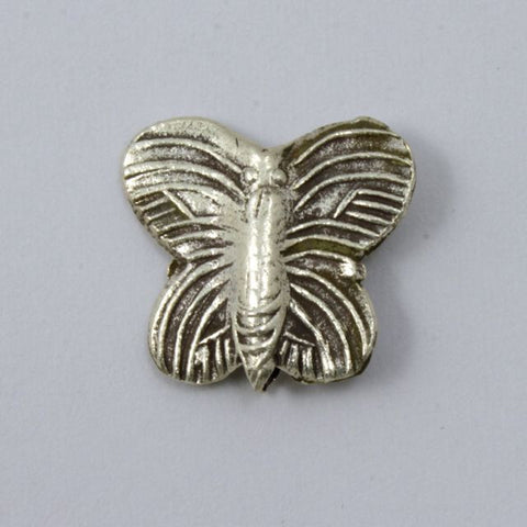 20mm Thai Sterling Silver Butterfly Bead