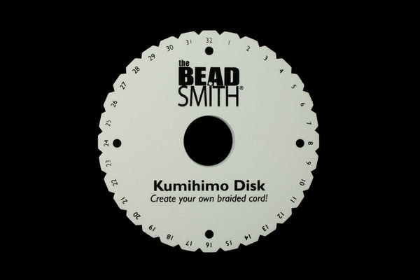 "6"" Round Kumihimo Plate #TLB040"