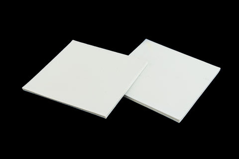 38mm White Square #UP295