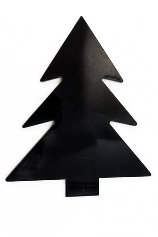 105mm Black Christmas Tree Blank #UP369