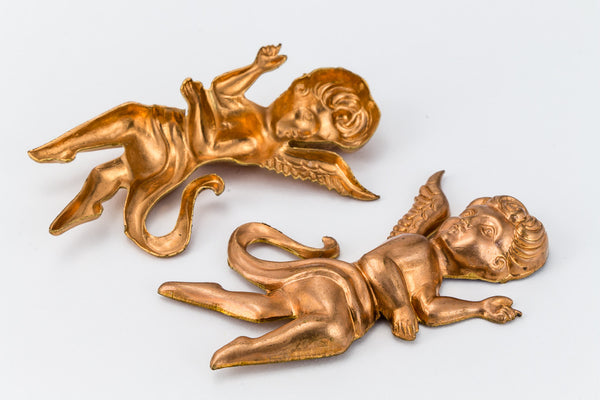 45mm Copper Cherub #12B