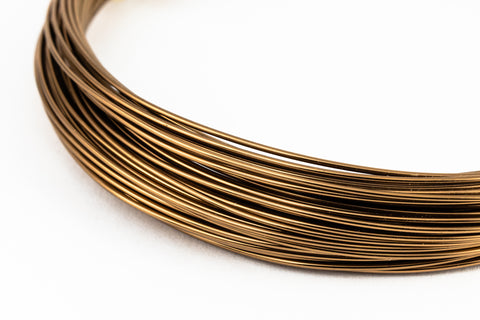 Artistic Wire. Antique Brass 24 Gauge German Style Wire -39.4 Ft (10 Packs, 60 Packs) #WRQ303