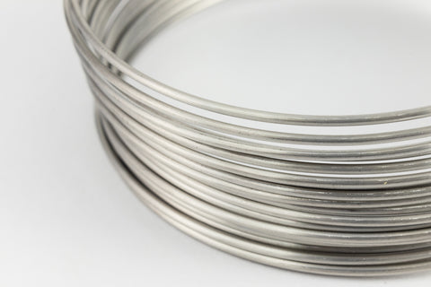 Artistic Wire. 18 Gauge Stainless Steel Wrapping Wire -56 Ft (2 Packs, 12 Packs) #WRQ602