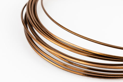Artistic Wire. Antique Brass 20g German Style Square Wire -6.5 Ft (6 Packs, 36 Packs) #WRS200