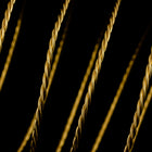 Artistic Wire. Brass 20 Gauge Twisted Round Wire -8 Yd (8 Spools, 48 Spools) #WRT302