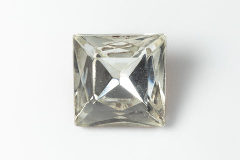 12mm Crystal Square Point Back Fancy Stone #XS175-D