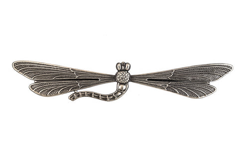 113mm x 20mm Antique Silver Dragonfly #ZWS054