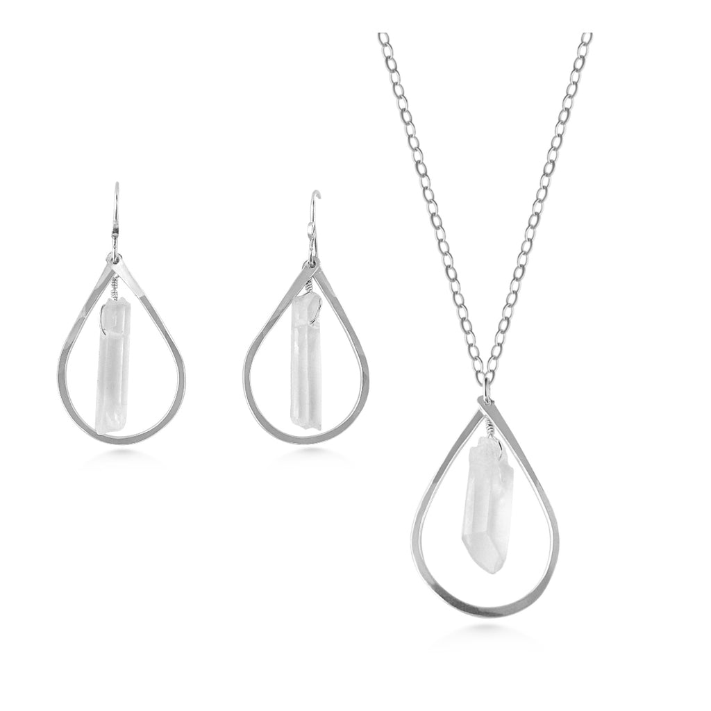 Crystal Jewelry Set - Dancing Moon