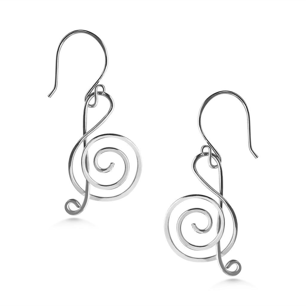 Music Note Jewelry Set - Dancing Moon
