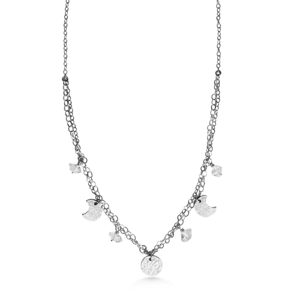 Moon Charm Choker - Dancing Moon