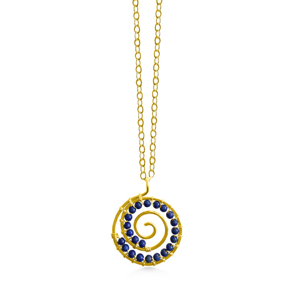 Spiral Pendant Large - Dancing Moon