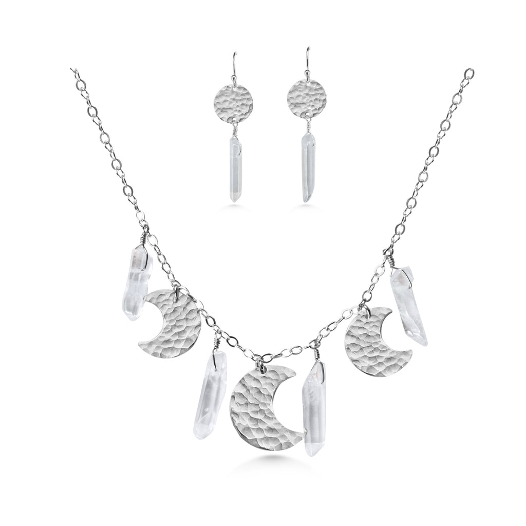 Crystal Moon Jewelry Set - Dancing Moon