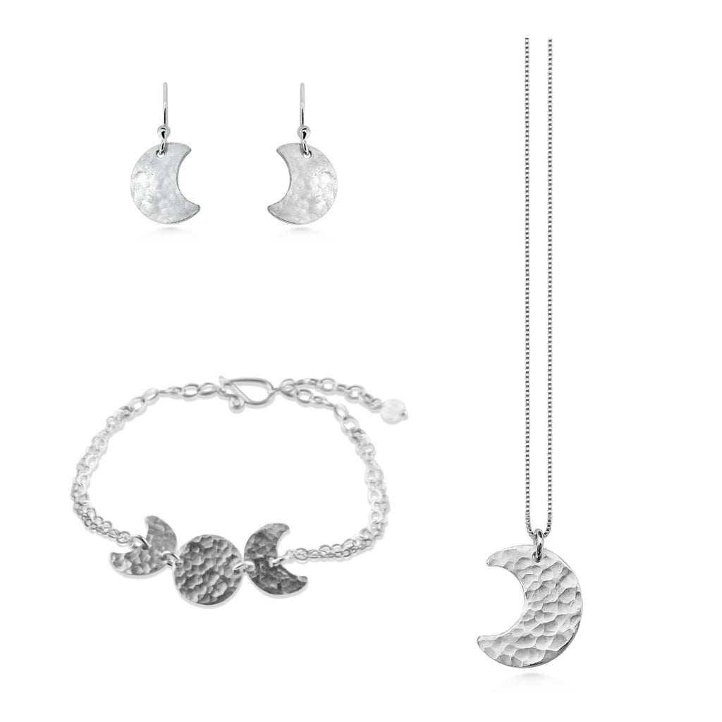Moon Phase Jewelry Set - Dancing Moon