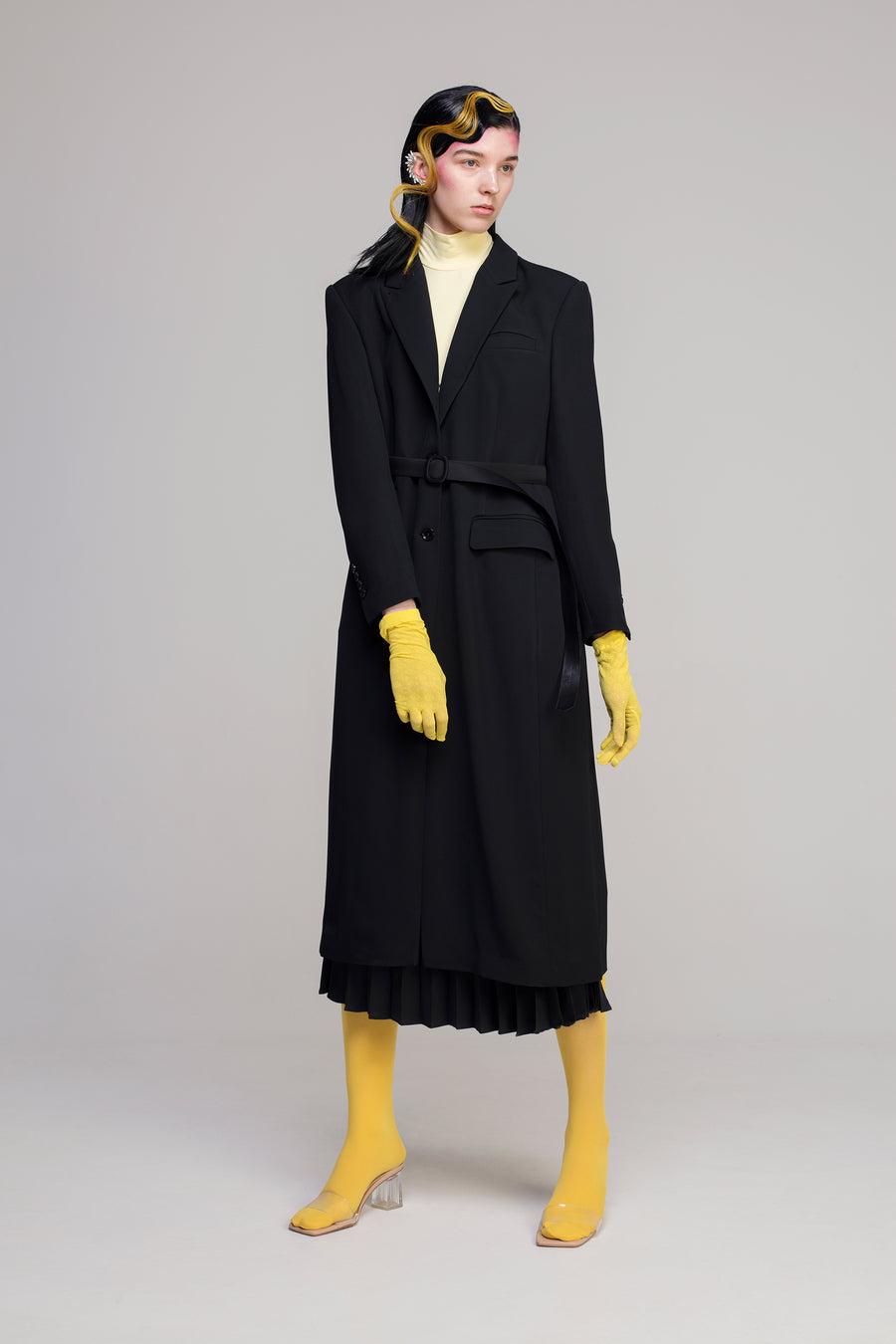 BLACK ORTHODOX COAT