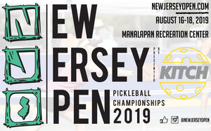 New Jersey Open Pickleball Championships Heads to Manalapan in 2019