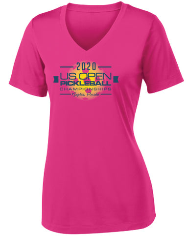 2020 US Open Pickleball Championships Sport V-Neck