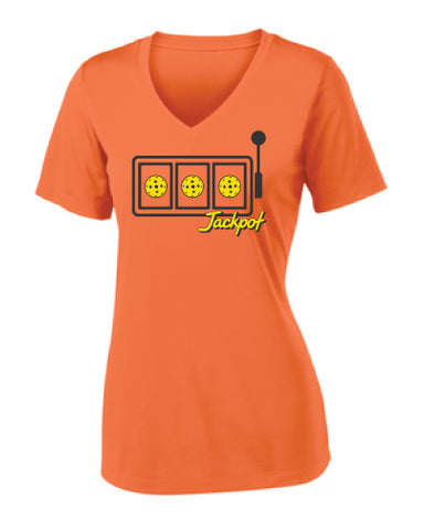 Las Vegas Jackpot Performance V-Neck