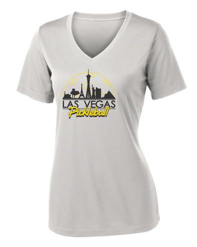 Las Vegas Skyline Performance V-Neck