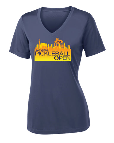 Las Vegas Pickleball Open Performance V-Neck