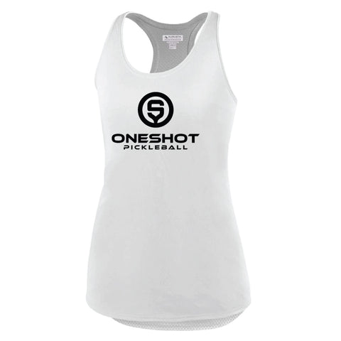 Oneshot Pickleball Performance Racerback Tank