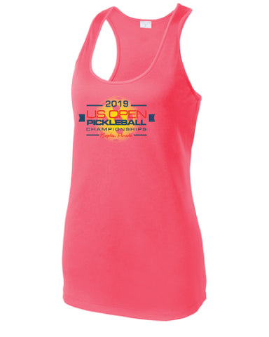 2019 US Open Pickleball Signature Performance Racer Tank