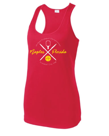 Pickleball City USA Racerback Tank