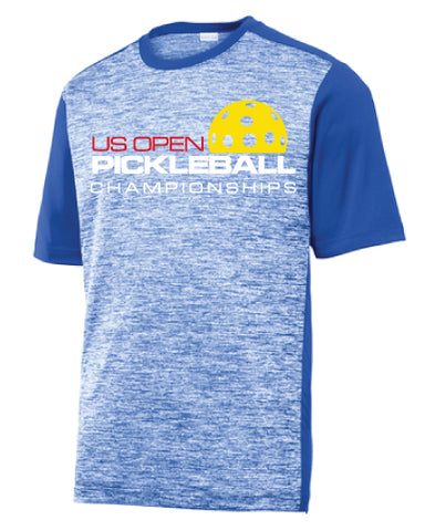 US Open Pickleball Electric Raglan Performance Crew